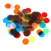 Wholesale Counting Chips - Wholesale- 120pcs PRO Count Bingo Chips Markers for Bingo Game Cards 3cm 6 Colors