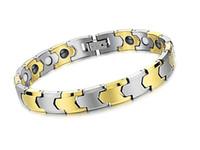 Wholesale Magnetic Tungsten Steel Bracelet - Tungsten Bars Bracelet Magnetic Tungsten Steel Health Care Bracelet Health Magnetic Anti Fatigue Radiation Fashion Jewelry