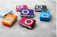 Wholesale Cheap Card Clip - hot sale Fashion Mini Cheap Clip Digital Mp3 Music Player USB with SD card Slot mixed colors