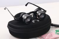 Wholesale Waterproof Fishing Watches - BIJIA Portable Zoom Mini Fishing Glasses Telescope 10X Magnifying Loupe Green Film Binoculars For Hiking Concert Reading Watching Sport