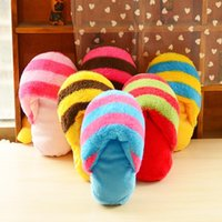 Cute Plush Slipper Shape Squeaky Toy Puppy Chew Juega Toy Sound Pet Supplies Perros para perros