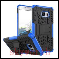 Wholesale Iphone 5c Hybrid Rubber Case - For iphone 7 Plus 6 6S Plus Huawei P9 5C HTC A9 530 Rugged Stand Rubber Shockproof Hybrid Hard Case Cover