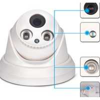 Wholesale Wireless Camera For Auto - IP Camera Wifi Wireless Motion Detect Auto Restart H.264 JPEG Compress Resist Compression IPC with 2 Infrared Lamp 40m IR for IPC-RH2-D