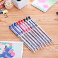 Wholesale Cheap Wholesale School Stationery - school Ballpoint Pens korean stationery vintage cheap back red blue ink ballpoint pen student writing tools Gifts