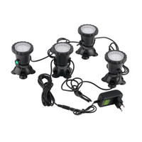 Wholesale underwater lights 3w for sale - Group buy 2016 high quality set Underwater Garden Fountain Fish Tank Pool Pond LED Spot Light New for EU plug