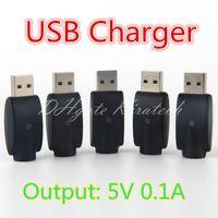 chargeurs pour la chine achat en gros de-eGo 510 Chargeurs Sans Fil E Cig USB Chargeur Pour Fil eVod Populaire Ecig Stylo Petite Cigarette Bud Touch Batterie China Direct