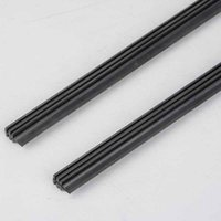 """Wholesale Windshield Wipers Sale - 2PCS 2016 Universal Car Frameless Wiper Blade Refill 26"""" Rubber Bracketless Auto Car Soft Windshield Windscreen Wipers On sales"""