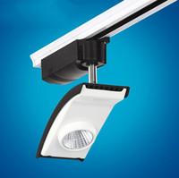 luz conduzida brilhante da trilha venda por atacado-Preço de atacado 20 W Super cob led trilha lâmpada COB levou faixa de luz COB LED rail light Alta Brilhante AC85-265V