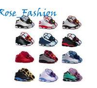 Wholesale Men S Shoes Red - Cheap Price Retro XIII 13 CP3 Basketball Men Shoes Retro 13s Black Orion Blue Sunstone Athletics Sneakers Sports shoe Retro 13's Trainers