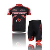 Wholesale Merida Team - Merida Team Red Cycling Wear Short jersey Bicycle Bike Jersey Cycling Clothing Top mtb jackets Cycling Short Sleeve Set