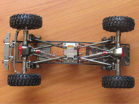 Wholesale Rc Crawler Kit - Aolly RC SCX10 1 10 Scale 4WD Rock Crawler Chassis Frame Kit Assembled