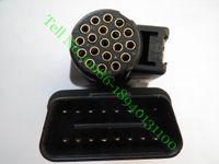 gm tech2 saab venda por atacado-ParaG M TECH2 OBD II 16 Adaptador OBD2 PIN COM N ° 3000098 OBD 2 Conector OBDII Auto Scanner Adaptador OBD-II 3000098 VTX 02002955