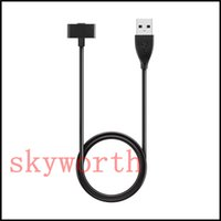 Wholesale Chip Watches - Magnetic USB Charger Data Charging Cable for Fitbit Ionic Charging usb cable (3 feet) Replacement With Chip 1m 30cm