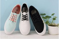Wholesale Cheap Rubber Flooring Wholesale - Height Increasing Canvas Casual Shoes Sneaker 3 colors Leisure Shoe for Girls Ladies Women Free Shipping DHL Cheap Korean Style Shoes