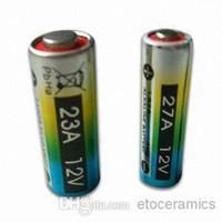 Wholesale 12v A23 Battery - 2000pcs Lot,12V 23A .A23 Alkaline battery (for door bell, remote control...)