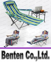 Wholesale New Outdoor leisure chair folding chair folding chair folding chair bed office outdoor lunch chair bed LLFA