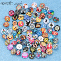Wholesale Toggle For Glasses - Hot wholesale 100pcs lot High quality Mix Many styles 18mm Glass Snap Button Charm Rhinestone Styles Button For Ginger Snap button Jewelry