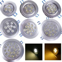 3W 4W 5W 7W 9W 15W 18W recesso teto LED Down Light Spot lâmpada Lâmpada AC 85-265V Downlight Indoor Com Motorista LED