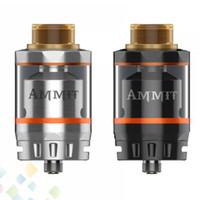 e cig tanks 3ml großhandel-Original GeekVape Ammit RTA Doppelspule Version 3ml 6ml Tankinhalt Option 4-Wege-Luftstrom von unten E Cig DHL frei