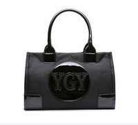 Wholesale Fashion Designer Shops - new famous fashion designer nylon tote women handbags shopping bag for lady 133