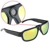 Wholesale Sports Camera Video Sunglasses Hd - Big len Sunglasses camera Full HD 1080P Sport camera Self-shoot digital video recorder colorfull 5.MP COMS PC webcam long time recording