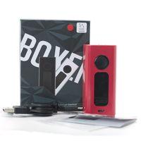 Wholesale large mods online - Original HUGO VAPOR Boxer W TC Mod Kit E Cigarette Kits Ibox W Large OLED Screen VT Ni VT Ti VW