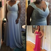 Wholesale Mint Chiffon Maternity Dress - IN STOCK Prom Dresses Backless Long Chiffon Formal Evening Gowns A-Line Sweetheart Beaded Mint Red Orange Burgundy Bridesmaid Dresses 2016