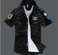 Wholesale Black Air Force Ones - 2016 Brand men summer aeronautica militare brand men's t shirts  air force one short sleeve army tshirt air force 1 clothing hight quality