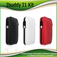 Wholesale Electric Cigarette Wholesale - Original iBuddy I1 Heating Starter Kits 1800mah Cigarette Vape Device First Pin Style Cig Electric Kit 100% Authentic