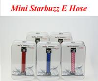Wholesale e hose mini starbuzz square online - Mini Starbuzz E Hose Square Electronic Handled Hookah Mini E Hose Kit More Portable Ecigs VS subox mini