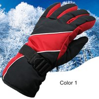 Wholesale Sales Cycling Winter Gloves - 2017 hot sale 8 Colors Men Skiing Gloves Thermal Waterproof windproof gloves For Winter Outdoor Sports gloves