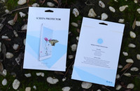 Wholesale Empty Retail Package Paper for Tempered Glass Screen Protector Package packaging boxes for iPad Mini Air2 Pro