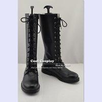 Wholesale Shinsengumi Cosplay - Wholesale-Hakuouki Shinsengumi Kitan Saitou Hajime COS COSPLAY shoes A15