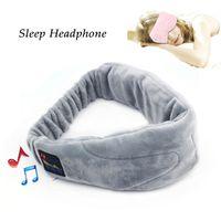 telefonu dinle toptan satış-Bluetooth Uyku Kulaklık Stereo 2.4 GHz Kablosuz Uyku Bandı Kulaklık Için Liste Müzik Cevaplama Telefon Ayrıca Göz Maskesi