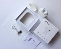 Wholesale Wholesale Iphone Headphones Box - 2017 I7S TWS Wireless Bluetooth Earbuds Twins Headphones Headset with Charger Box for Apple Iphone X 8 7 Plus Android Samsung Sony Headphone