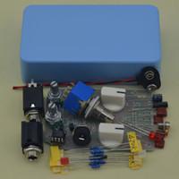 Wholesale Guitar Effect Compressor - NEW DIY Compressor effect pedal guitar stomp pedals Kit LB