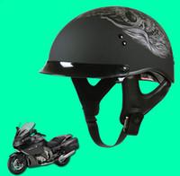 Wholesale Sol Helmets - HOT SALE SOL summer motorcycle helmet capacetes motociclistas capacete motorcycle capacete motocicleta Half Face Harley Helmet DOT Approved