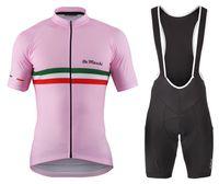 italien fahrräder groihandel-Herren PT Italien Flagge Rosa Team Radfahren Trikot 2019 Maillot ciclismo, Rennrad Kleidung, Fahrrad Fahrradbekleidung D11