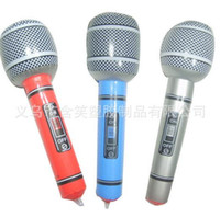 Wholesale Inflatable Microphone Toys - Inflatable Stick Inflatable microphones stick Bar Simulation Cara OK Microphone Toy Children Toys