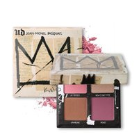 Wholesale Hot Gallery - New Hot arrival Jean-Michel Basquiat Gallery Blush Palette Limited Edition Gallery Blush Palette Blush Bronzer Highlight