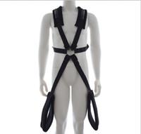 бдсм одежда для мужчин оптовых-БДСМ фетиш ролевая игра тела связывание сдерживает одежду с регулируемым поясом связывание сдерживает одежду для человека