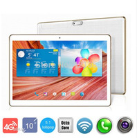 Wholesale German Mount - 2016 newest DHL Free Shipping 10 inch Tablet PC 4G LTE Octa Core 4GB   32GB Android 5.1 IPS 8.0MP GPS Tablet PC 10 inch