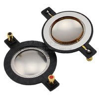 Wholesale Component Radio - Wholesale- Freeship 4pcs 44.4mm 44.5mm speaker voice coil speaker replacement components Tweeter Speaker Dome diaphragm Replace Voice coil