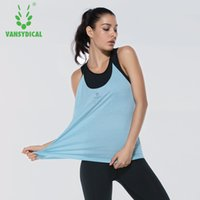 2017 New Yoga Women Gants de remise en forme Quick Drying Stretch Slim Running Vest Jump Exercise Tight Training Apparel Jersey T Shirt