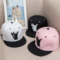 Wholesale Wholesale Cartoon Character - Hot sell Unisex ball caps fashion casual hip-hop hats Cartoon Character embroidery caps free shipping