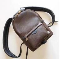Wholesale Vintage Bag Packs - 2018 free shipping! orignal real pu leather fashion back pack shoulder bag handbag presbyopic mini package messenger bag mobile phonen