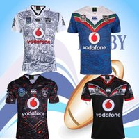 Wholesale Warriors Jersey Xl - 2017 2018 NEW Zealand Warriors Rugby jerseys Auckland NRL the star premiership ALL BLACKS RWC Super RUGBY home away rugby Shirts