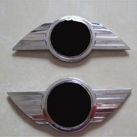 Wholesale Car Bonnets - Fashion Tail Car Stickers for Mini Bonnet Metal Black Popular Car Sticker Exterior Accessories New Arrival