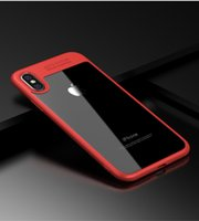 Wholesale Hd Cover Iphone - Full Protective Case for iPhone 8 TPU & Acrylic HD Transparent Ultra Slim Back Cover for Apple iPhone 8 Case iphone8 Coque New