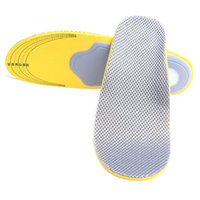 Wholesale Insole Flat Foot - 2 Pairs Unisex Orthotic Insole Adult Orthotics Full Pads for Flat Feet Orthopedic Insoles Foot Arch Support Breathable Pad Size Can Cut